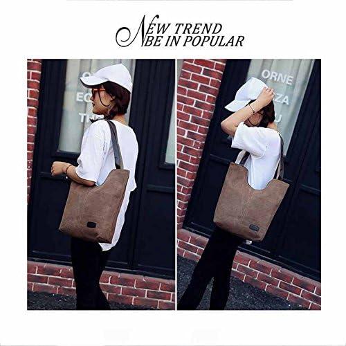 Ladies Single Shoulder Handbag Casual Leisure European And American Canvas Trade Bag
