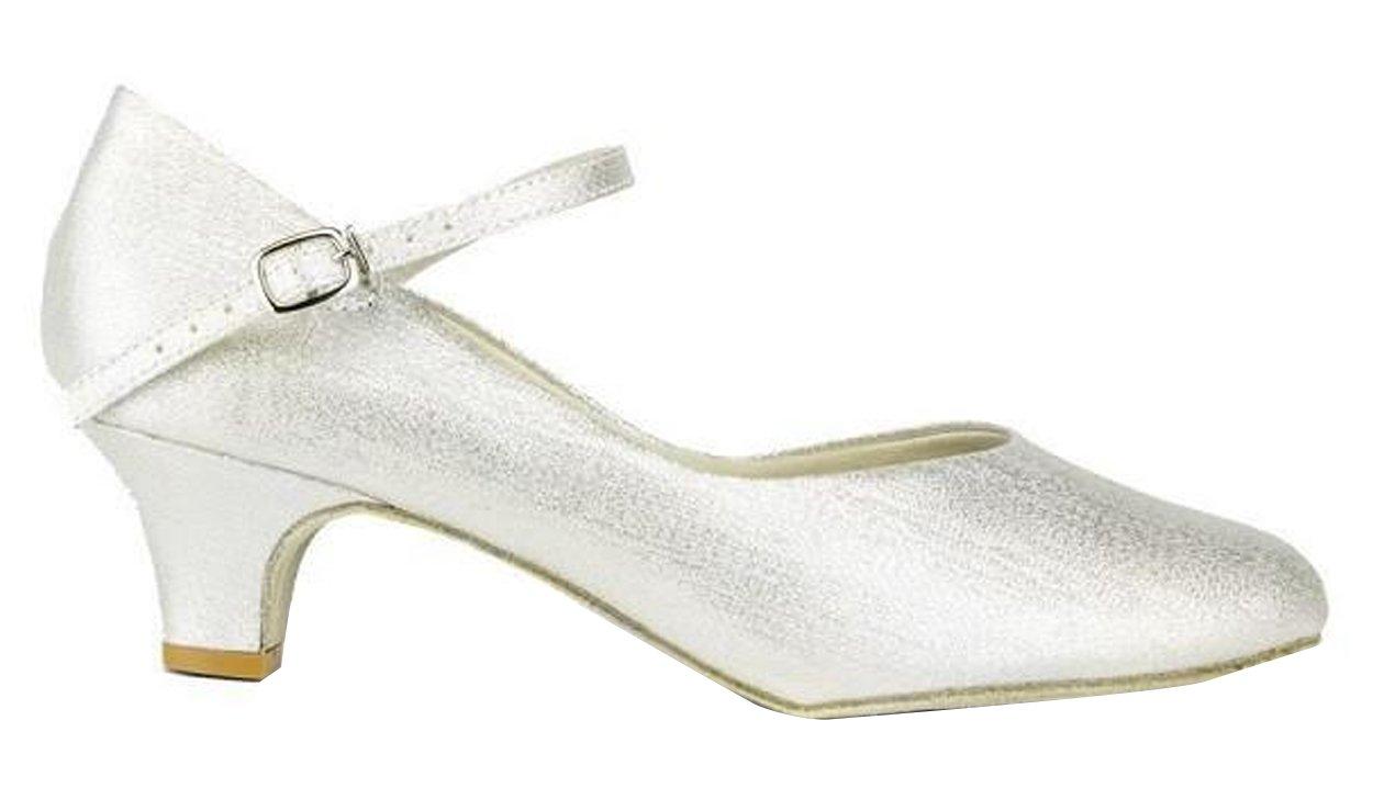 So Danca Ballroom Shoes Silver with 1.5'' Heel