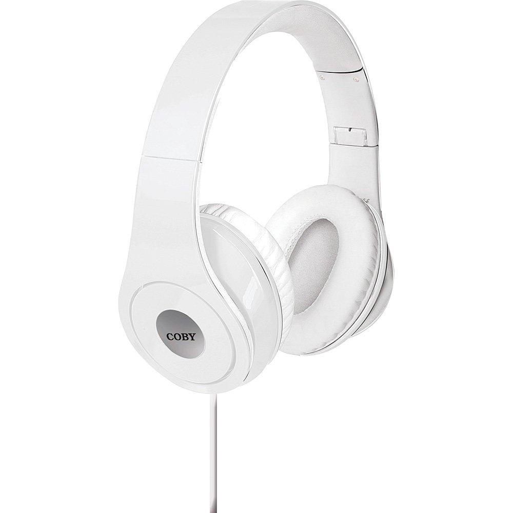 Coby Premium Jammerz Lightweight Extra Bass Stereo Headphones