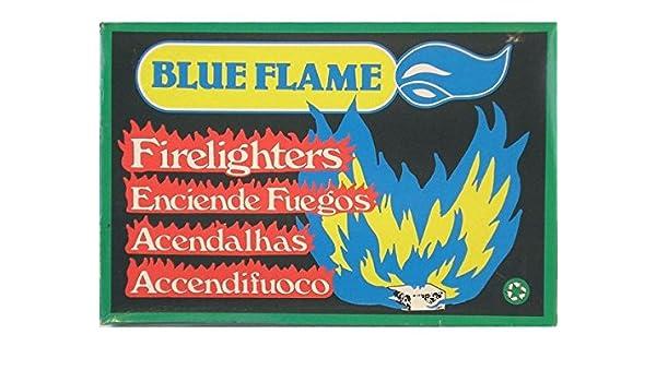 PASTILLAS FUEGO BLUE FLAME (M28) {RJ10: Amazon.es: Hogar