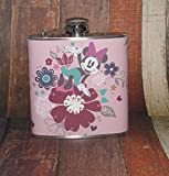 Minnie Mouse Mickey Mouse Disney Disneyland Cartoon 6 oz Liquor Hip Flask Flasks Fun Gift