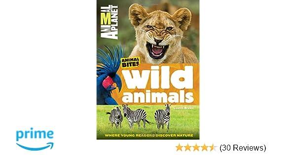 Wild Animals Animal Planet Bites 9781618934147 Amazon Books