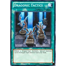 Yu-Gi-Oh! - Dragonic Tactics (SDBE-EN029) - Structure Deck: Saga of Blue-Eyes White Dragon - Unlimited Edition - Common by Yu-Gi-Oh!