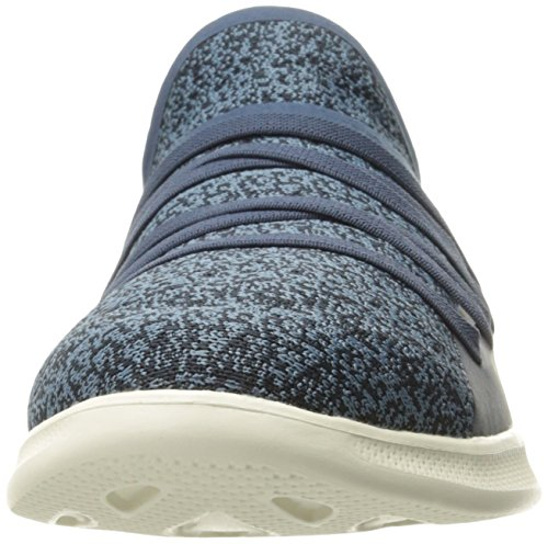 Skechers Donna Andare Passo Lite-14750 Walking Shoe Navy / Blu