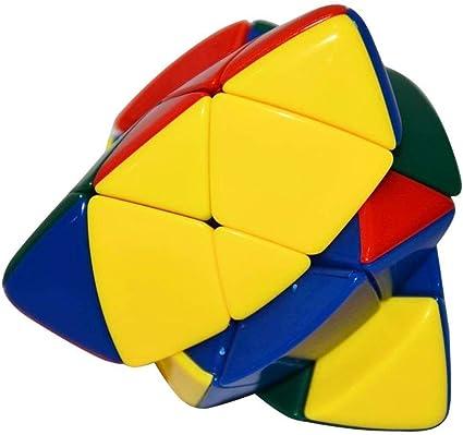 Shop & Shoppee Shengshou Master Pyramorphix Puzzle Magic Cube Toy (Multicolor)