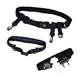 SAMSFX Adjustable Fishing Wader Belt Wading Belts for Surf Casting Kayak Fishing Accessories Waders Straps