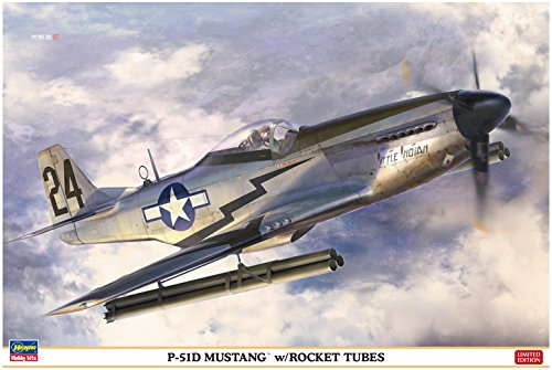 Hasegawa HST08244 1:32 Scale P-51D Mustang with Rocket for sale  Delivered anywhere in USA