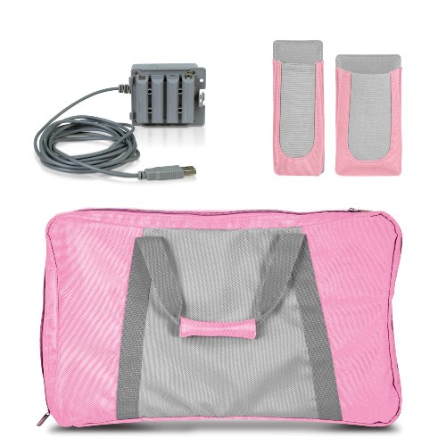 3-In-1 Lady Fitness Travel Workout Kit - Nintendo Wii (Kit Wii Workout)