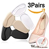 Heel Cushion Grips Heel Pads Inserts Grips,Insoles Liners for Heel Slip,Rubbing,Blisters Shoes Too Big