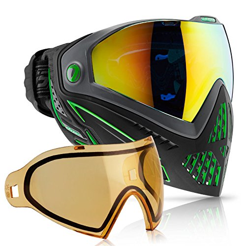 Dye i5 Paintball Goggle (Emerald with HD Thermal Lens Combo) by Dye