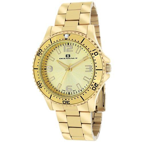 Oceanaut Women's 'Camara' Quartz Stainless Steel Casual Watch, Color:Gold-Toned (Model: OC9812)