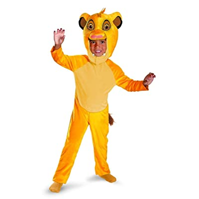 Disney Simba Toddler Classic Costume: Clothing