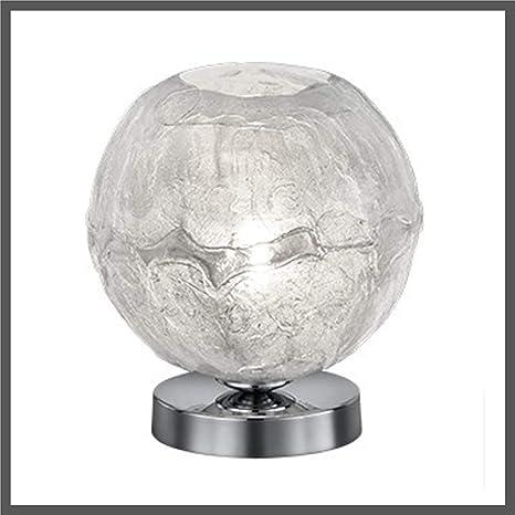 lámpara de mesa Escritorio Cromo Blanco metacrilato 20 cm de ...
