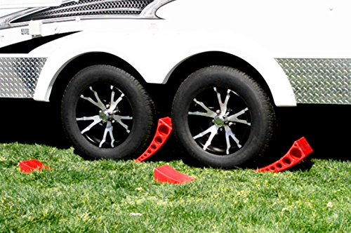 Andersen 2-Pack Camper Leveler Plus 2 Rubber Mats in Sturdy Carry Bag with Double Handles Andersen Manufacturing 4333082947
