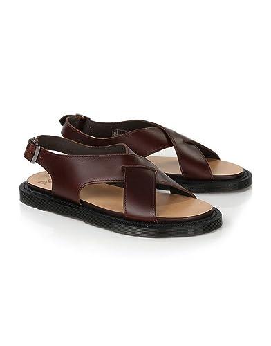 c78b8e0f852 Spotlly Tan Womens Dr Martens Women s Abella Ankle Strap Sandals - Tan  Analine - 7