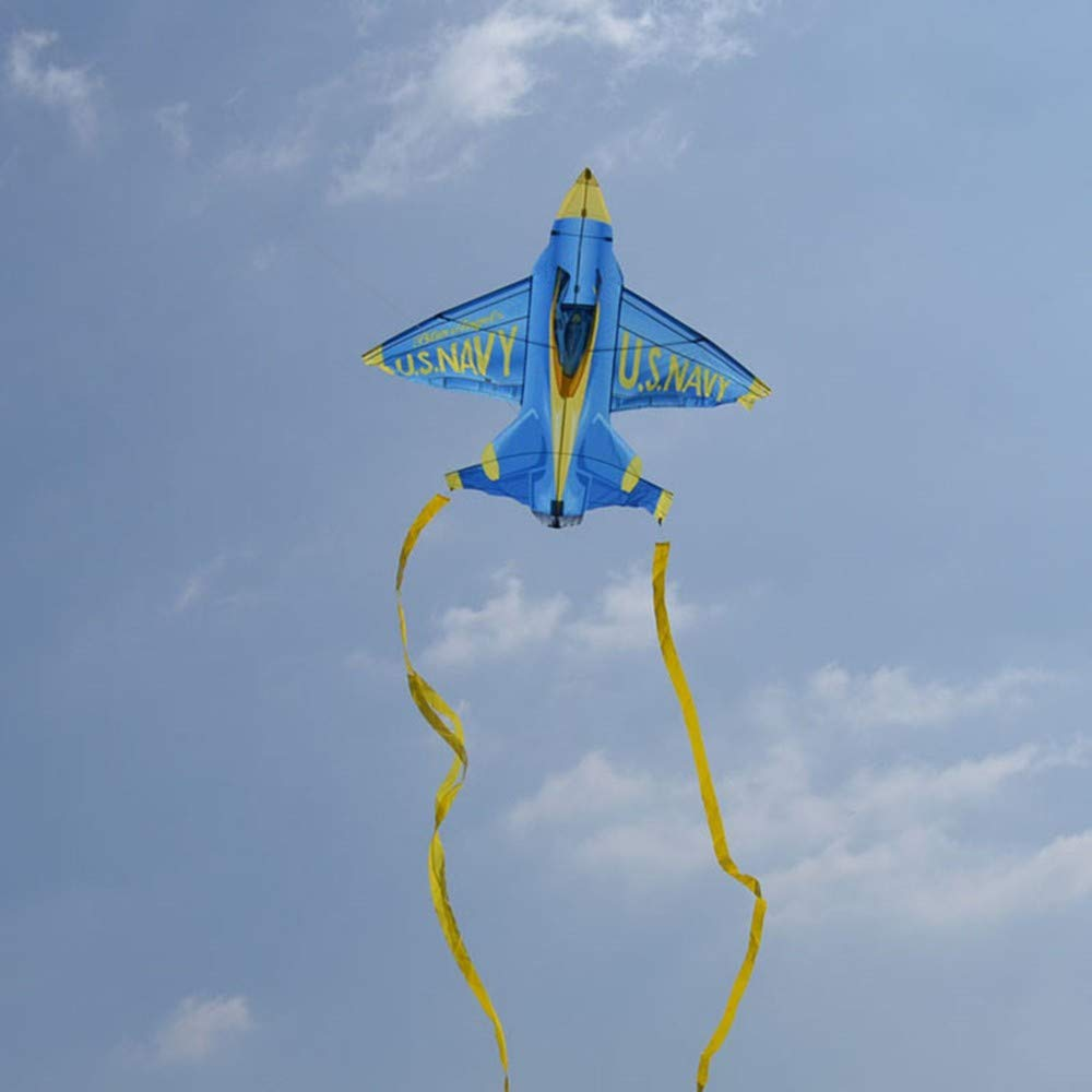 GUNDAN Avion Cerf-Volant Restreint Avion Jouet Cerf-Volant Longue Queue Sports De Plein Air Cerf-Volant Jouet Cerf-Volant Volant Facile Cadeau Enfants