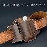 EDC Leather Knife Sheath Tool Pouch Belt