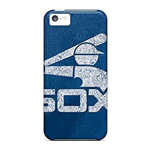 High Grade MXcases Flexible pc Case For Iphone 5c - Chicago White Sox