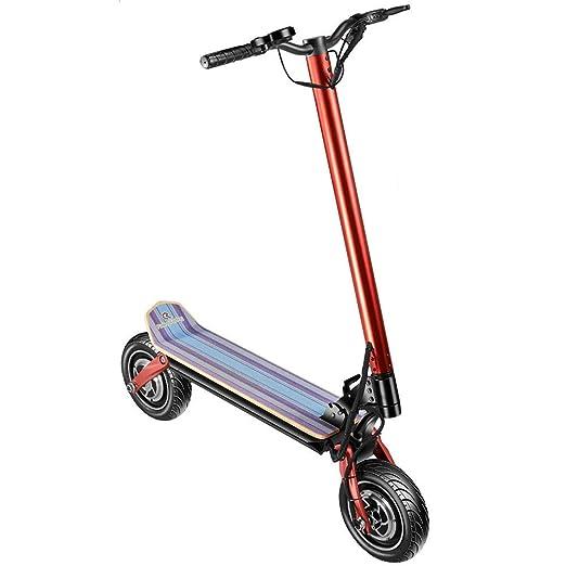 Y&XF Scooter eléctrico Plegable de 350 vatios para Adultos E ...