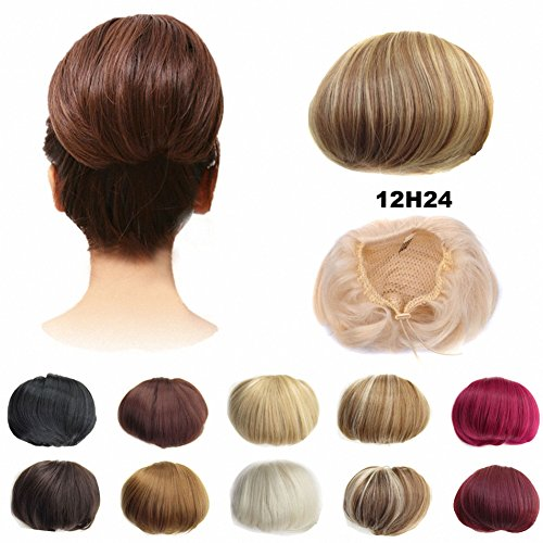 FESHFEN Scrunchie Extensions Drawstring Knot 12H24 product image
