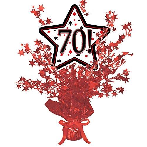 70! RED STAR CENTERPIECE -