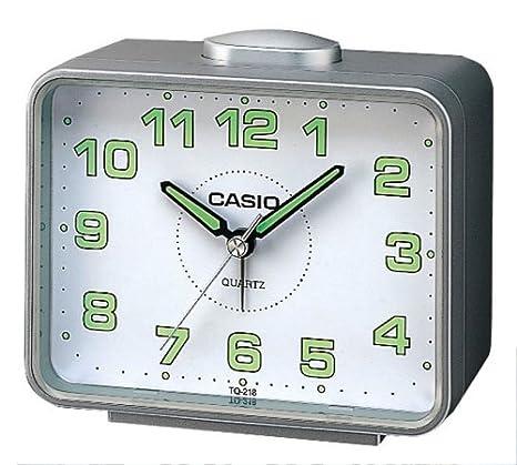 Casio TQ-218-8EF - Reloj analógico - digital de mujer de cuarzo con