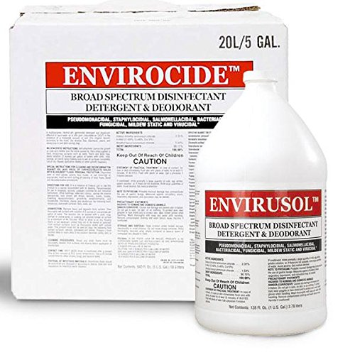 Tropical Envirusol Disinfectant and Deodorant, 1-Gallon by TROPICAL