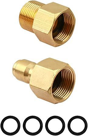 Daily Pressure Washer Adapter Set Female Swivel to M22 Male Fitting