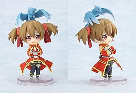 Amazon.com: Huong Anime Figure 6 CM 6 pcs/set Sword Art ...