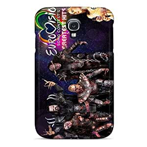 ChristopherWalsh Samsung Galaxy S4 Scratch Protection Phone Case Allow Personal Design Colorful Lordi Band Pictures [WLK4940llBa]