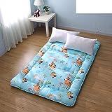 Cartoon thicken tatami mats mattress student mattress dormitory bedding-A 100x190cm(39x75inch)