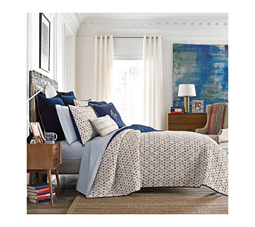 (Tommy Hilfiger Royal Arms Quilt Collection Standard Sham)