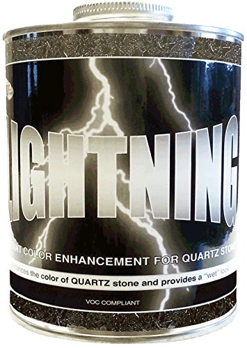Superior LIGHTNING Instant Color Enhancement for Quartz 1 QT. by Superior Stone Products