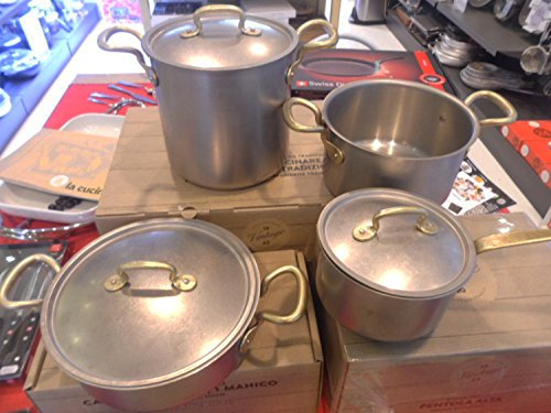 Cookware Set 7 Pieces Sambonet Vintage by Italian Cooking St