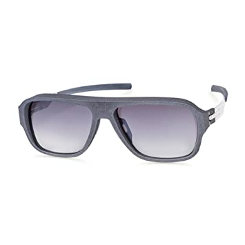 Sunglasses Ic Berlin I See Grey Plotic Made in Germany 100% Authentic New mvPD1K