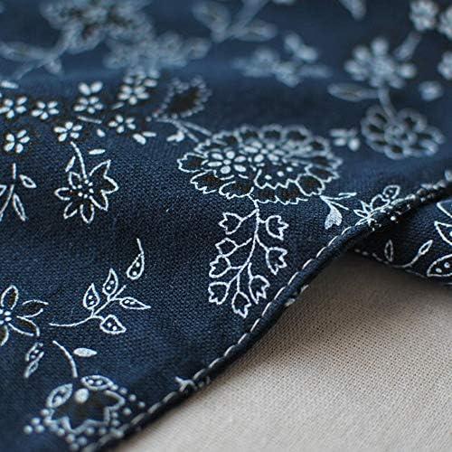 テーブルランナー 素朴な自由ho放に生きる結婚式ブライダルシャワーパーティーの装飾のための現代手作りのテーブルランナーカバーダークブルー 結婚式 パーティー ホームデコレーション (Color : Dark blue, Size : 12''x87'')