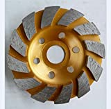 CHANGLI 3.5'' Diamond Grinding Cup Wheel for Angle Grinder and Stone Processing (12 Segs)