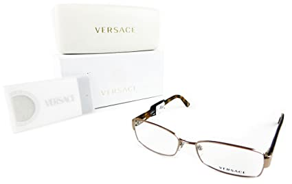 Lunettes de vue Femme Versace ve1177 Marron 1052 Calib.54 – 16 métal Barres  135 38a1af2b227b