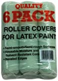New Case of (72) Linzer Rc139 3/8'' X 9'' Smooth Paint Roller Cover Naps 0136291