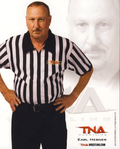 Earl Hebner - Official TNA Wrestling 8x10 Promo Photo