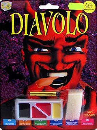 FIORI PAOLO Juego de Maquillaje Diablo: Amazon.es: Juguetes y juegos