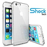 iPhone 6 Case, Shock Tech iPhone 6s Case 4.7 Inch Soft Transparent TPU Gel [Crystal Clear] [Slim Fit] [1mm Ultra Thin] Silicone Protective Skin for iPhone 6s/iPhone 6 (Transparent)