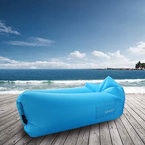 Amazon.com: Hybag - Tumbona hinchable para playa, portátil ...