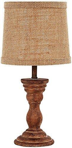AHS Lighting L2158WS-UP1 Randolph Brown Accent Lamp 7 x 7 x 12 7 x 7 x 12