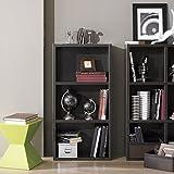 Boraam 40080 Techny Collection Hartley Hollow Core Bookcase, Light Oak