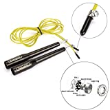 Pseudois Fitness Jump Rope team ropes jump rope double unders with ball bearing