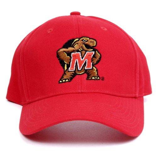 Maryland Optic (NCAA Maryland Terrapins LED Light-Up Logo Adjustable Hat)