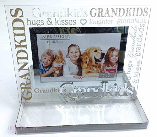 Grandchildren Photo Frame Gifts Grandkids Presents Birthday Silver ...