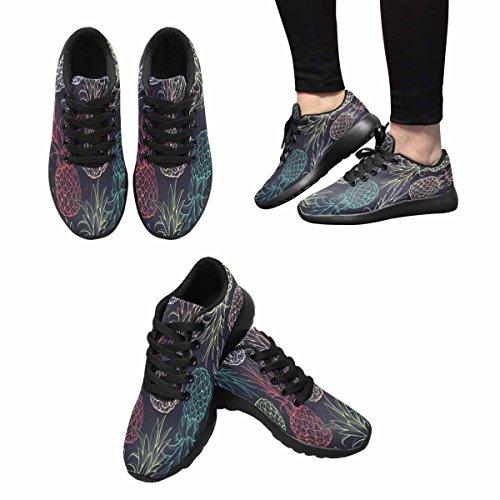 Scarpe Da Corsa Trail Running Da Donna Jogging Leggero Sportivo Da Passeggio Sneaker Da Allenamento Ananas Multi 1
