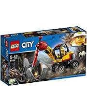 LEGO 60185 City Mining Power Miners Toy Vehicle Set, Build and Play Construction Toys for Kids